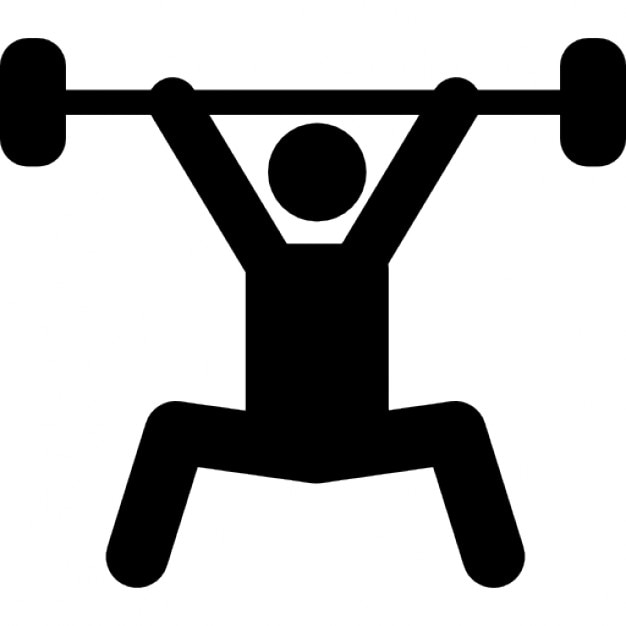 weightlifting silhouette vectors photos and psd files free download rh freepik com weight lifting logs free printable version weight lifting logs sheets