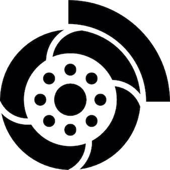 Wheel of a car