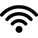 Wifi connection signal symbol