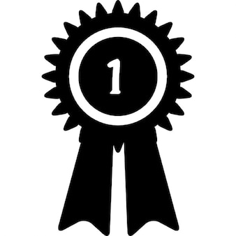 Winner's ribbon