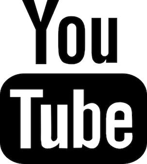 Youtube социальные логотипа