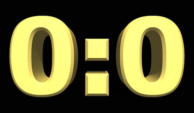 0:0 축구 또는 축구 스포츠 점수