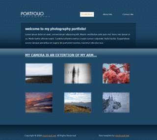 テンプレート08 - 写真家のポートフォリオ