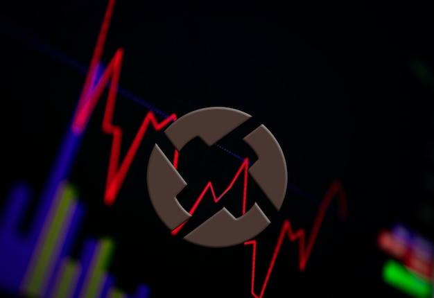 交換チャートの0xzrx暗号通貨コイン成長チャート