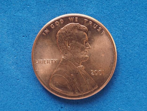 1セント硬貨、米国