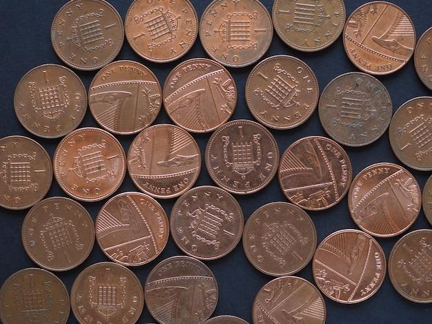 1 penny coin, united kingdom