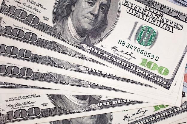 100 долларов банкнот детали