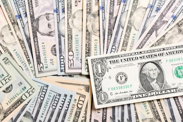 アメリカの100ドル紙幣の背景