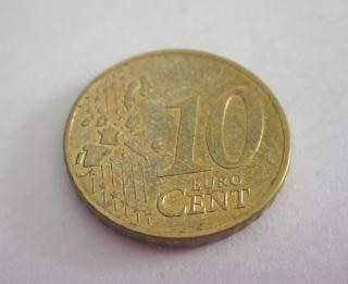 10ユーロセント硬貨