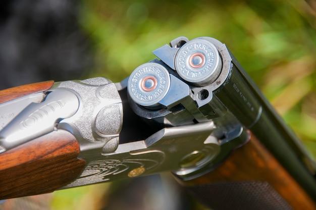 12 bore shotgun