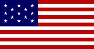13 star united states flag
