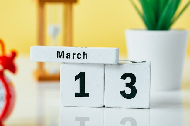 13 thirteenth day of spring month calendar march.