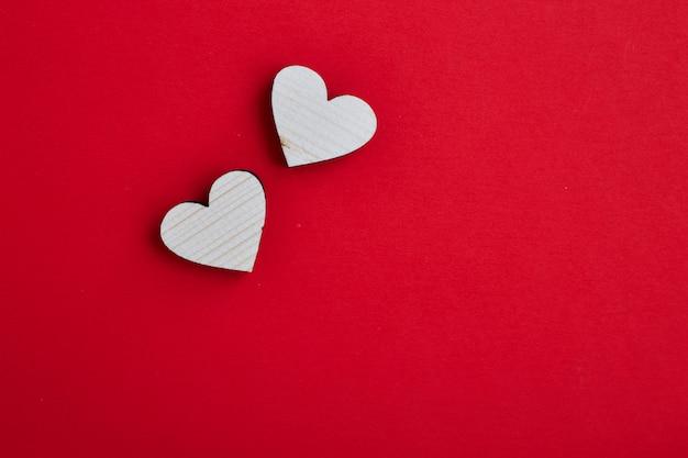 14th february valentine hearts concept