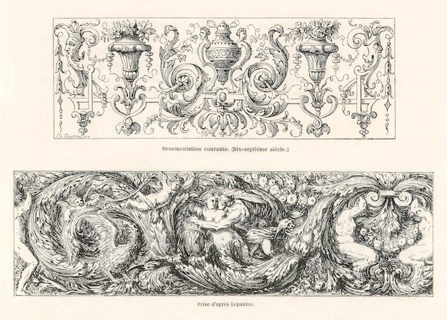 17th-century ornamental designs