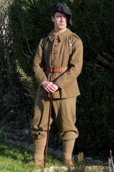 1940年代のフランスの兵士