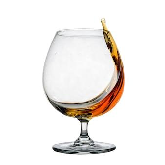 スプラッシュとウイスキーを1杯分離イメージ