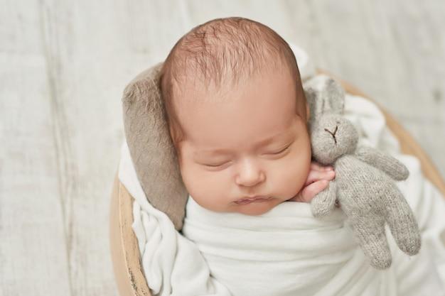新生児男の子1ヶ月