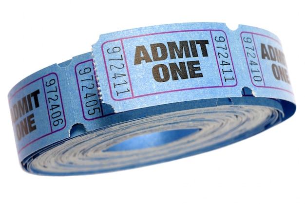 青のロールは1チケットを認めます