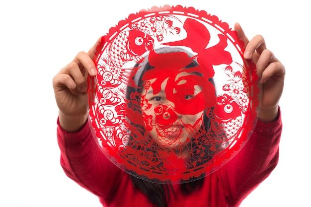 女性の休日のジェスチャーアジア1