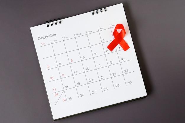 Всемирный день борьбы со спидом, красная лента дата 1 декабря