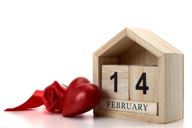 2月14日、バレンタインデコレーション