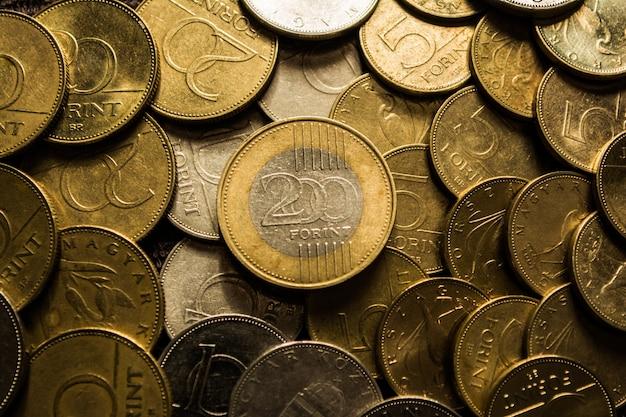 ハンガリー人200人。ハンガリーのコイン。