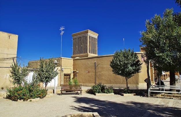 ヤズド/イラン-2012年10月1日:イランの古代都市ヤズド