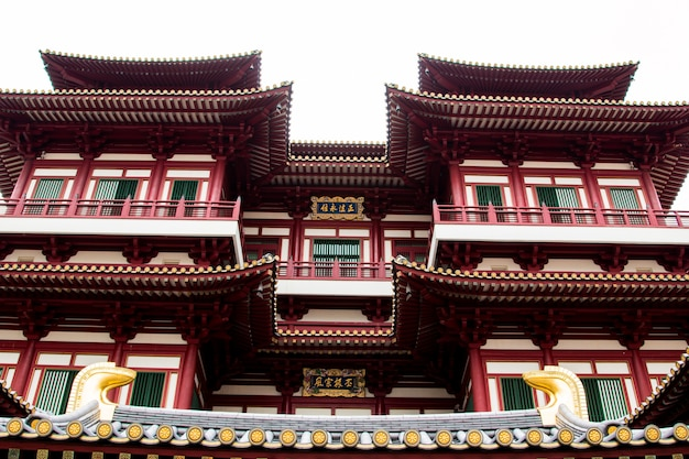 シンガポール -  2017年3月2日:シンガポールのチャイナタウンの仏像。
