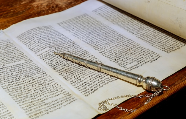 Нью-йорк, нью-йорк, март 2019 года. еврейская тора - синагога. еврейские праздники.