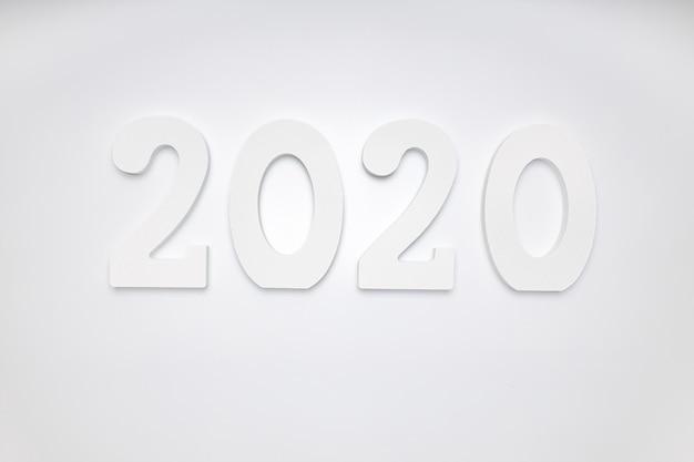 С новым годом 2020. символ из числа 2020