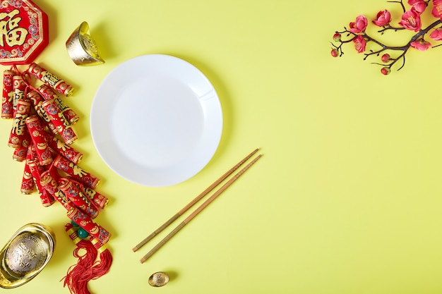 中国の新年2020デコレーションフェスティバル