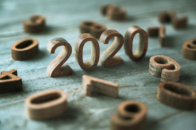 木の数の新年2020