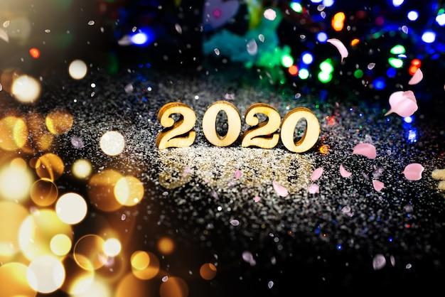 2020 новогодний фон