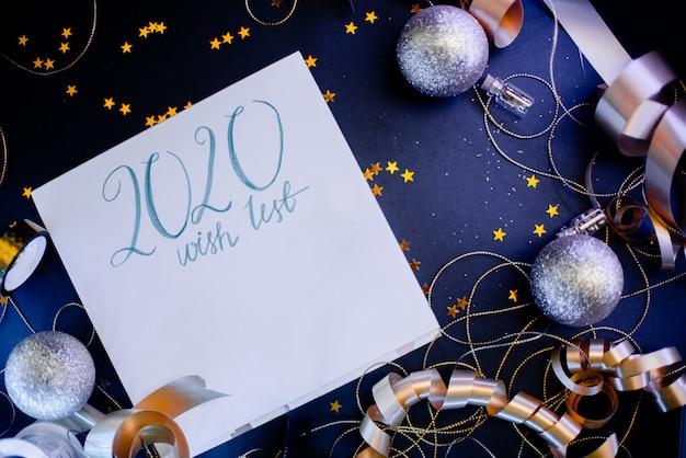 Блокнот 2020 подарочная коробка с золотым бантом