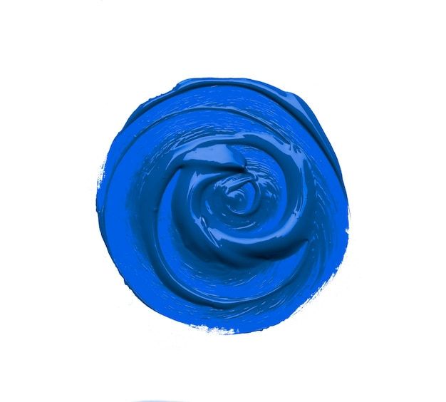 2020年の古典的な青色の背景色