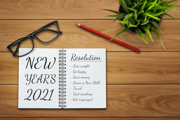 2021 happy new year resolution goal list