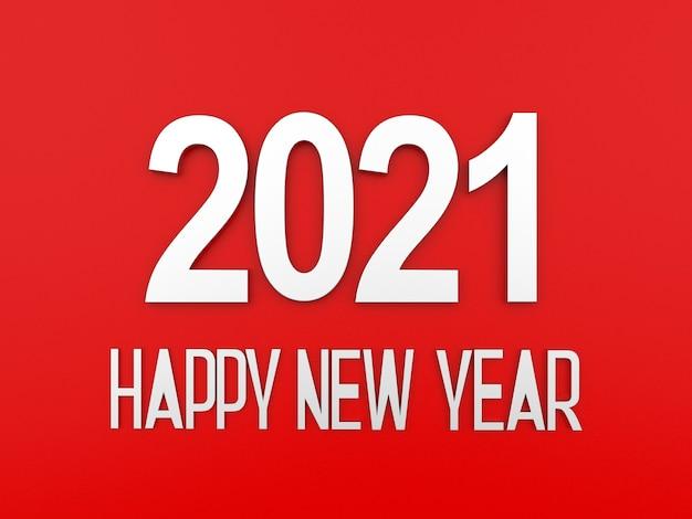 2021 текст с новым годом на красном фоне