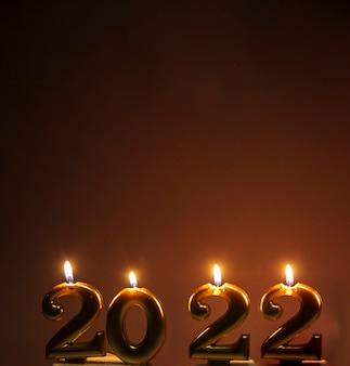 2022 burning candles