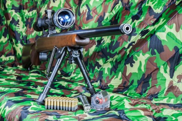 Карабин .22 lr винтовка с болтовым затвором