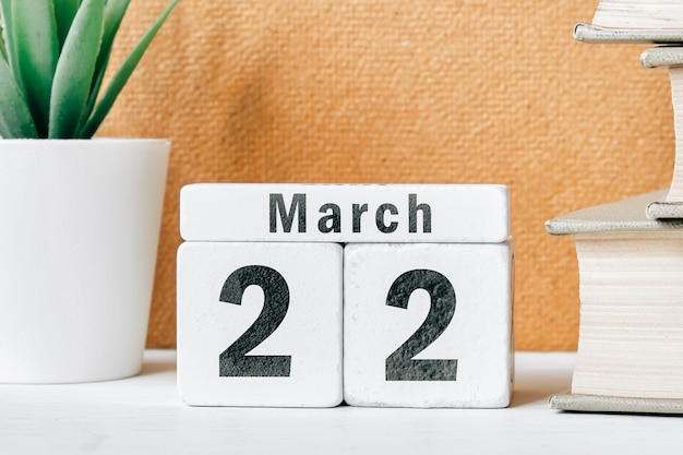22 twenty second day of spring month calendar march.