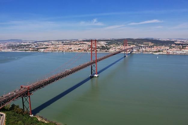 Мост 25 апреля, лиссабон, португалия