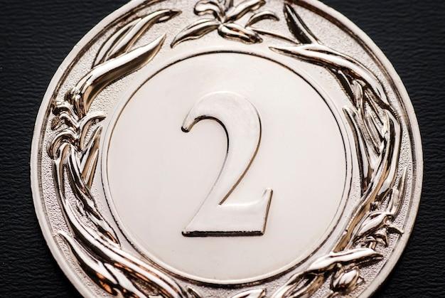 Серебряная медаль за 2 место