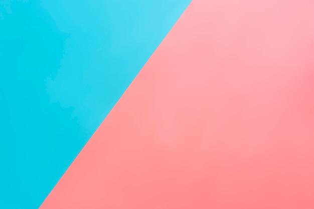 2色の青とピンクの背景