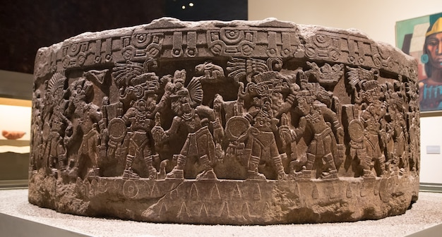 Рельеф майя 2