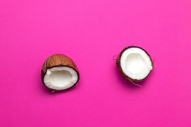 ココナッツ、2つに分割