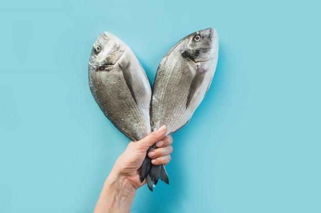 2ドラド魚の手