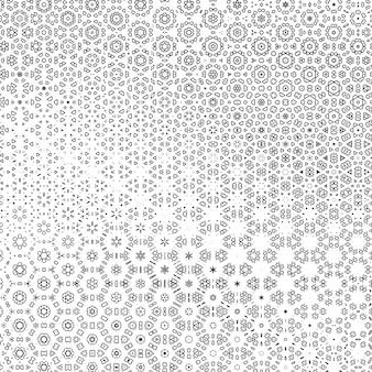 2d абстрактный фон с узором эффект калейдоскопа. простая графическая иллюстрация.