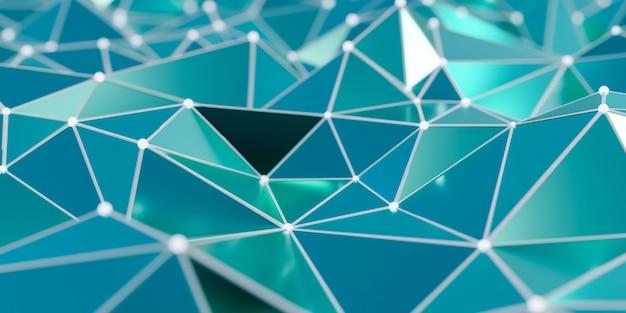 点と線を結ぶ -  3 dレンダリングと抽象接続構造の表示
