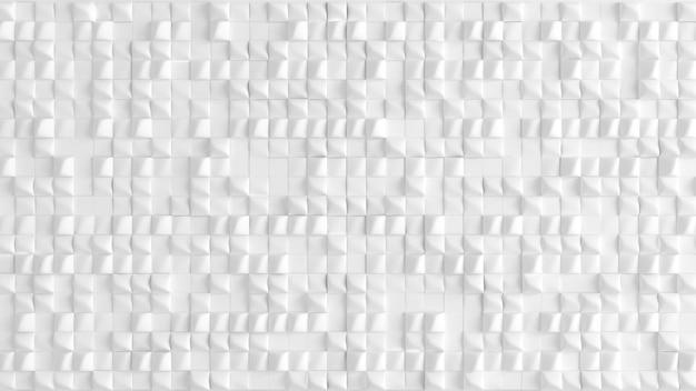 幾何学図形を3 dレンダリングの白い背景テクスチャ