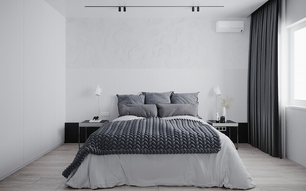 3 dレンダリングの寝室